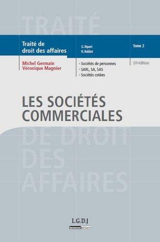 9782275035987: Traité de droit des affaires : Tome 2, Les sociétés commerciales