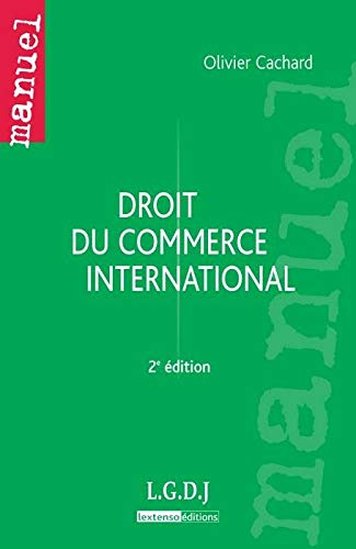 9782275036458: droit du commerce international (2e édition)