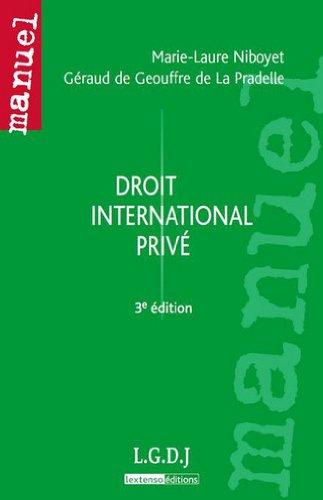 9782275036502: Droit international privé