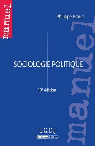 9782275036519: sociologie politique (10e édition)