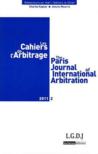 les cahiers de l'arbitrage t.2: Charles Kaplan