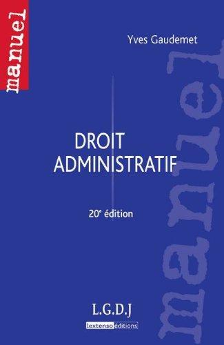 9782275037882: Droit administratif