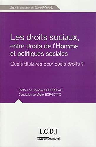 Droits Sociaux:Quels Titulaires? (les): Roman Diane