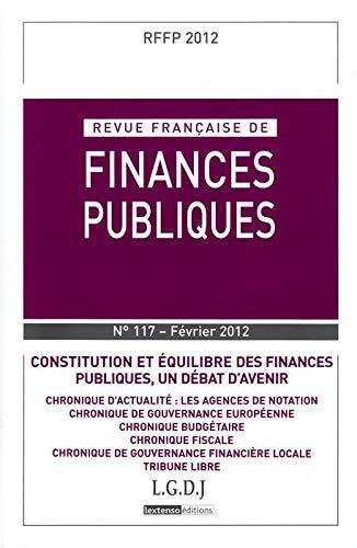 REVUE FRANCAISE DE FINANCES PUBLIQUES: Collectif