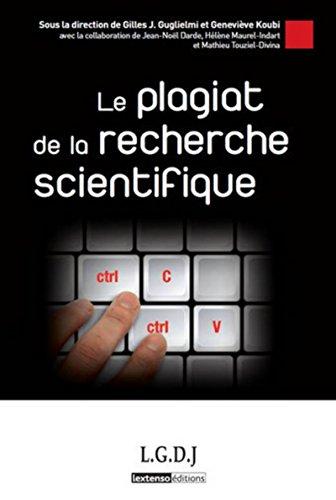 Plagiat de la Recherche Scientifique (le): Guglielmi Gilles Kou