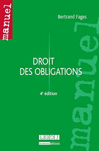 9782275038605: Droit des obligations (4e édition)