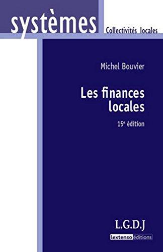 9782275039367: Les finances locales