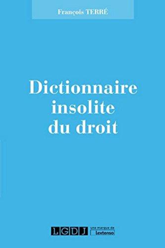 9782275040141: Dictionnaire Pittoresque de Droit
