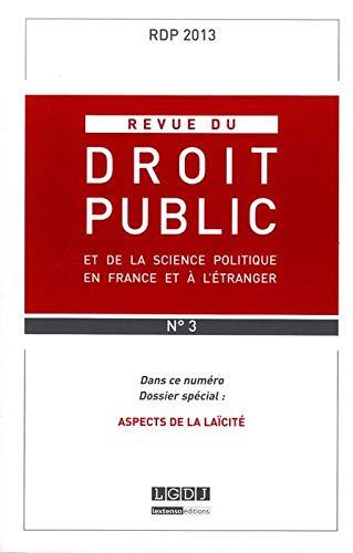 Revue du droit public t.3: Collectif