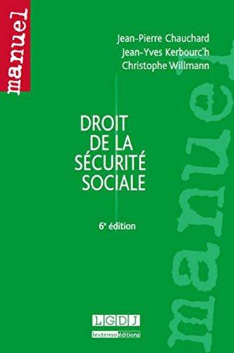 9782275040431: Droit de la sécurité sociale (6e édition)