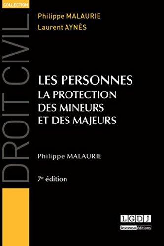 9782275040820: Les personnes : La protection des mineurs et des majeurs
