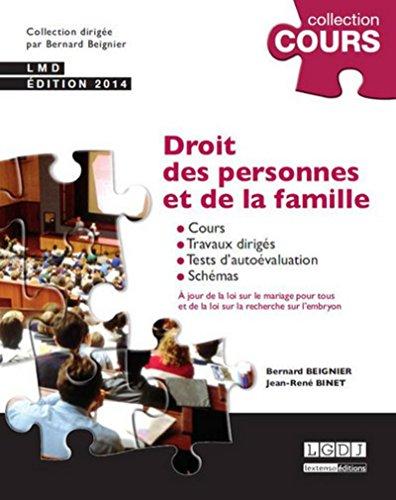 9782275040936: Droit des personnes et de la famille