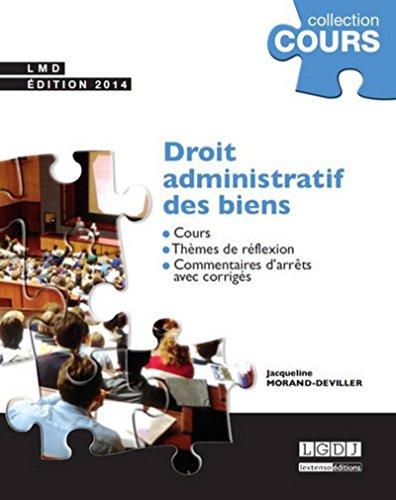 Droit administratif des biens: Jacqueline Morand-Deviller