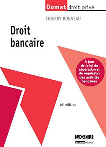 9782275041285: Droit Bancaire, 10ème édition