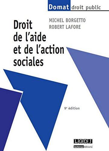 9782275041421: Droit de l'Aide et de l'Action Sociales, Neuvième ed.