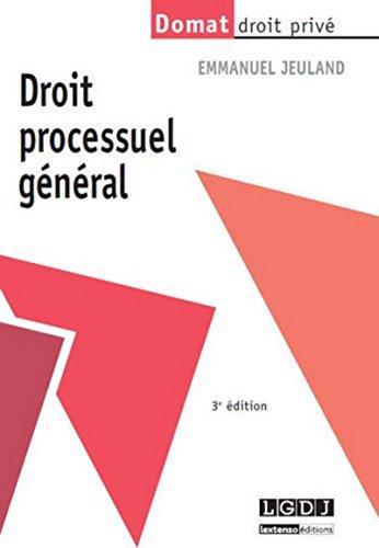 Droit processuel général