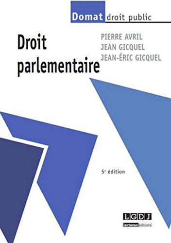 Droit parlementaire: Jean Gicquel