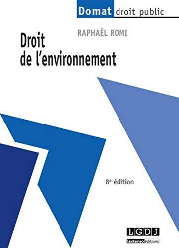 Droit de l'environnement: Fromageau, J Guttinger, P