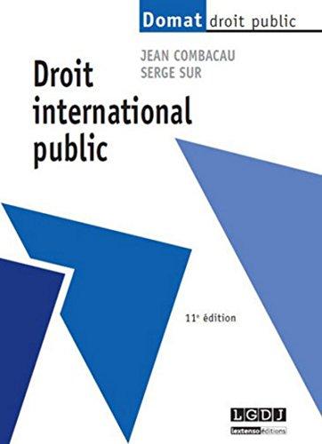9782275041629: Droit international public, 11ème Ed