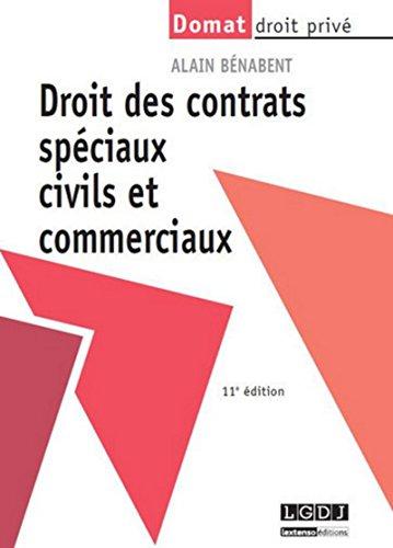 9782275042404: Droit des contrats spéciaux civils et commerciaux