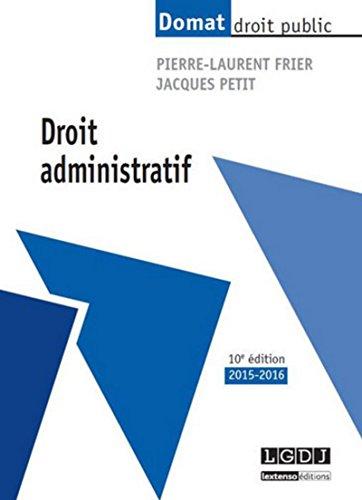 9782275042428: Droit administratif, 10ème Ed.