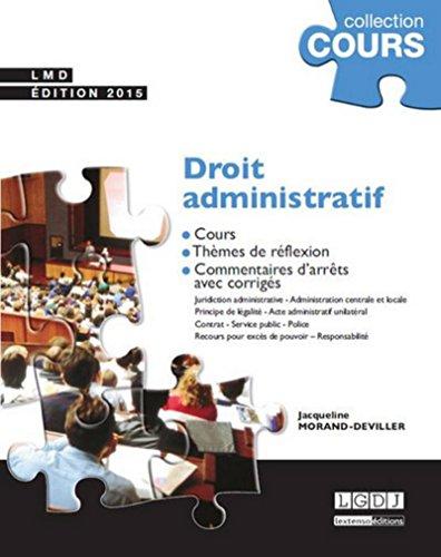 9782275042510: Droit administratif