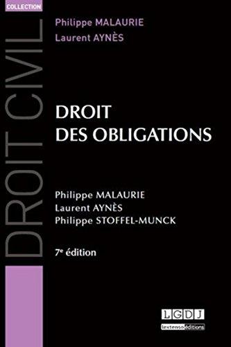 9782275042640: Droit des obligations, 7ème Ed.
