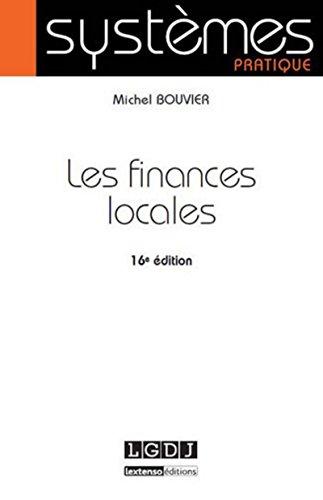 9782275042695: Les finances locales