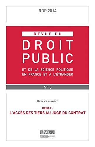 Rdp - Revue du Droit Public N 5-2014: Collectif