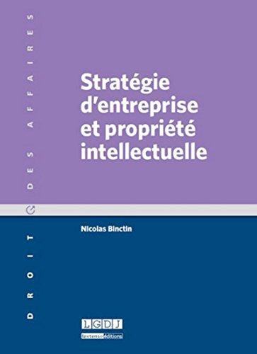 Stratégie d'entreprise et propriété intellectuelle