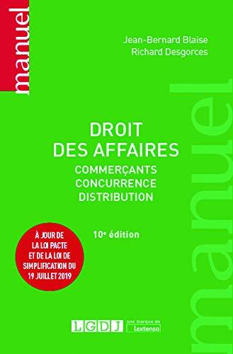 9782275064802: Droit des affaires : Commerçants, concurrence, distribution