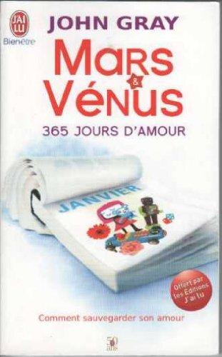 Mars et venus 365 jours d'amour