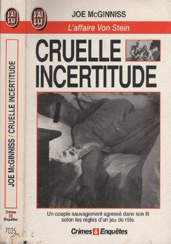 9782277070351: Cruelle incertitude : L'affaire Von Stein