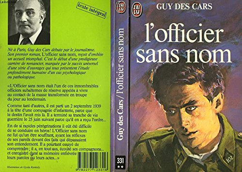 L'Officier sans nom: Des Cars, Guy