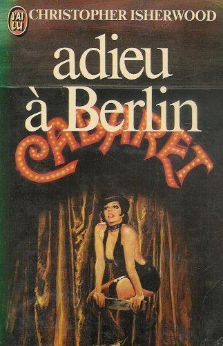 Adieu a berlin: J'Ai Lu