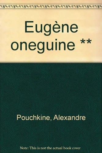 9782277220954 Eugène Onéguine Abebooks Alexandre