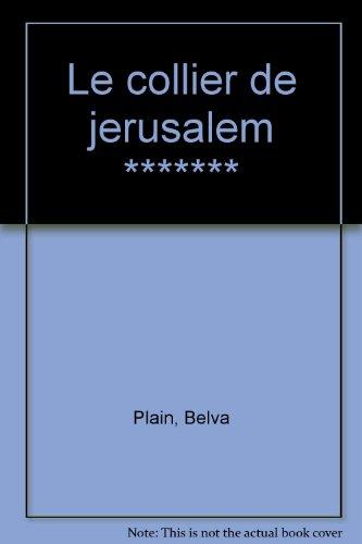 9782277233367: Le collier de Jérusalem