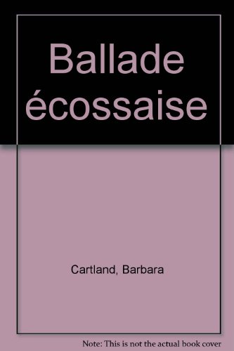 9782277241683: Ballade �cossaise