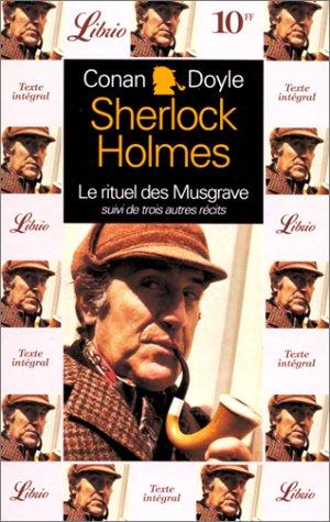 Quatre aventures de sherlock holmes t2- le: Conan Doyle Arthur
