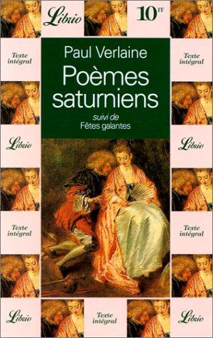 9782277300625: Poèmes saturniens, suivi de