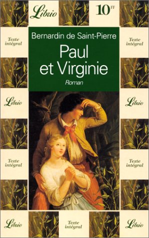 PAUL ET VIRGINIE: BERNARDIN DE SAINT-PIERRE,