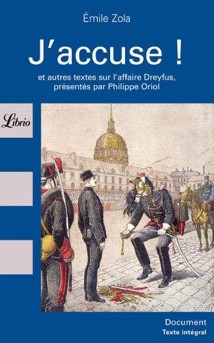 9782277302018: J'Accuse (Librio) (French Edition)