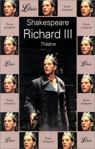 9782277304784: Richard III (Librio théâtre)