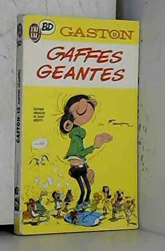 9782277332695: Gaston, tome 15 : gaffes géantes