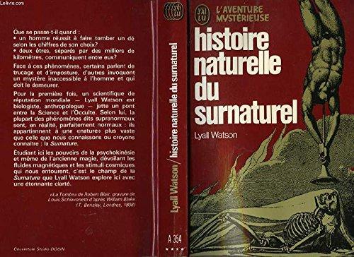 9782277513544: Histoire naturelle du surnaturel