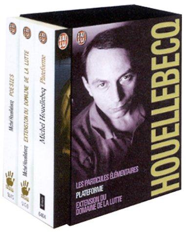 9782277604778: Michel Houellebecq Coffret en 3 volumes : Plateforme ; Extension du domaine de la lutte ; Les particules élémentaires