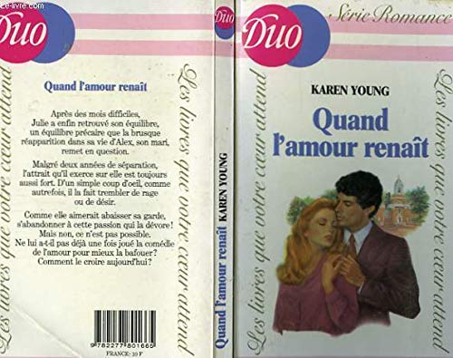 9782277801665: Quand l'amour renaît (Duo)