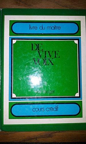 9782278002573: DE VIVE VOIX