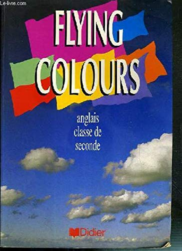9782278038299 Anglais Classe De Seconde Flying Colours