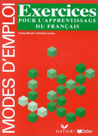 9782278038404: Grammaire Utile du Francais. Modes d'Emploi: Cahier D'Exercices (French Edition)